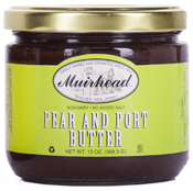 MUIRHEAD PEAR AND PORT BUTTER